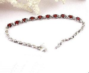 factory 925 silver naturalgarnet bracelet citrine earring ruby necklace