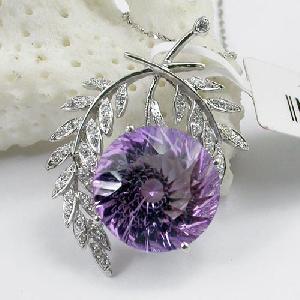 factory sterling silver amethyst pendant jade bracelet ruby prehnite
