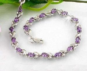 factory sterling silver amethyst bracelet olivine citrine earring moonstone pendant