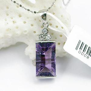 factory sterling silver amethyst pendant bracelet sapphire earring gem stone