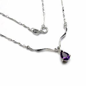 factory sterling silver amethyst pendant olivine bracelet sapphire blue topaz ring