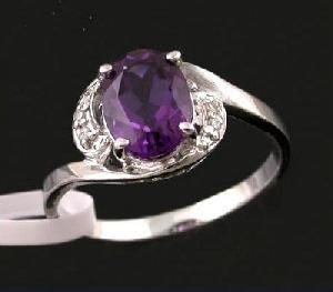 factory sterling silver amethyst ring sapphire prehnite jadeite earring jewe