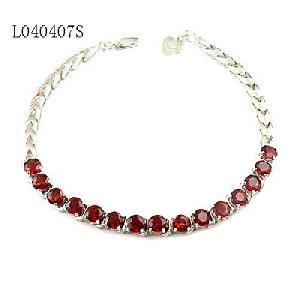 factory sterling silver garnet bracelet olivine citrine earring moonstone ring
