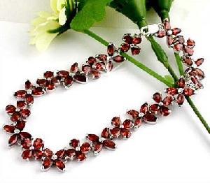 factory sterling silver garnet bracelet olivine ring blue topaz earring