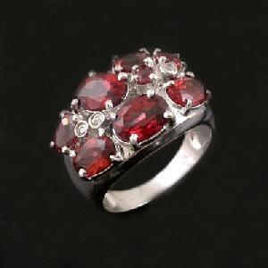 factory sterling silver garnet ring sapphire earring tourmaline bracelet fashion jewe