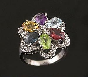 factory sterling silver mix gem ring jade bracelet ruby earring prehnite jewelry