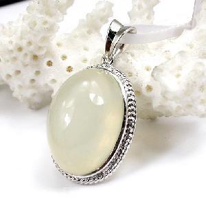 factory sterling silver moonstone pendant brass cz jewelry gem stone