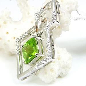 factory sterling silver olivine pendant blue topaz bracelet sapphire earring citrin r