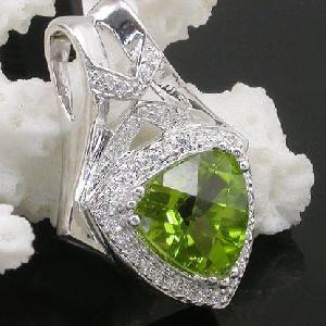 factory sterling silver olivine pendant jade ruby ring prehnite 18k jewelry