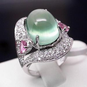 factory sterling silver prehnite ring blue topaz bracelet amethyst earring citrin rin