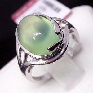 factory sterling silver prehnite ring olivine bracelet sapphire earring blue topaz ri