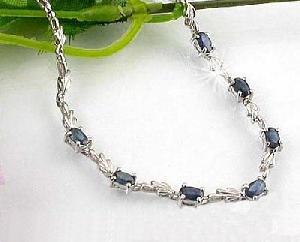 factory sterling silver sapphire bracelet olivine earring moonstone ring