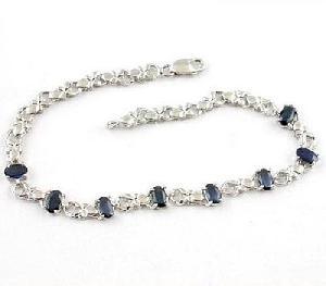 factory sterling silver sapphire bracelet earring amethyst ring