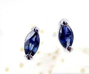 factory sterling silver sapphire stud earring bracelet amethyst ring