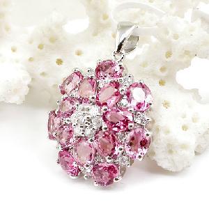 factory sterling silver tourmaline pendant fashion jewelry prehnite ring garnet earri
