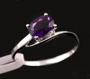 manufacturer 925 silver amethyst ring tourmaline sapphire earring bracelet