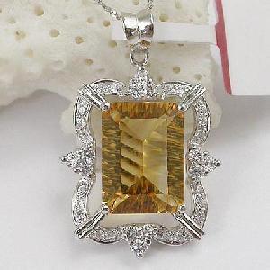 manufacturer 925 silver citrine pendant jade rose quartz bracelet prehnite