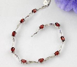manufacturer 925 silver garnet bracelet citrine agate ring earring