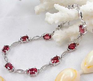 manufacturer 925 silver garnet bracelet citrine tourmaline blue topaz ring pendant