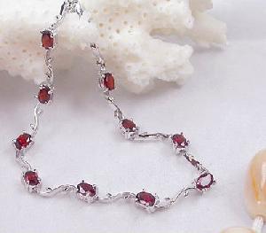 manufacturer 925 silver garnet bracelet ruby amethyst blue topaz earring