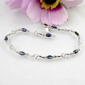 manufacturer 925 silver sapphire bracelet blue topaz oonstone jade garnet earring