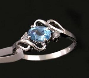 manufacturer sterling silver blue topaz ring earring rose quartz pendant