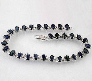 manufacturer sterling silver sapphire bracelet citrine garnet prehnite ring pendant