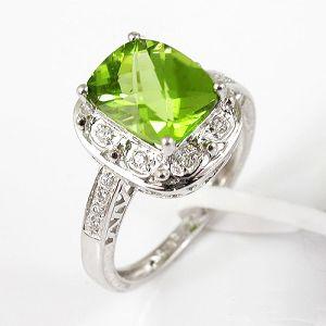 manufacturer sterling silver olivine ring citrine blue topaz pendant bracelet gem stone