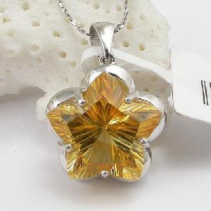 925 silver citrine pendant jadeite rainbow stone agate ring earring bracelet