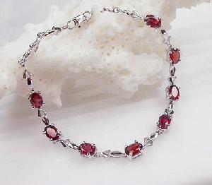 925 silver garnet bracelet stud earring blue topaz ring citrine olivine