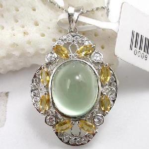 925 silver moonstone pendant olivine rainbow stone blue topaz bracelet ring