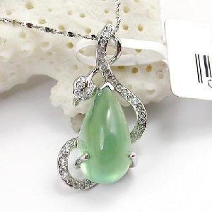 925 silver moonstone pendant olivine earring sapphire ring jade bracelet