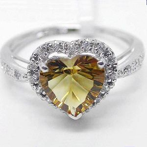 925 silver citrine ring blue topaz olivine sapphire amethyst jewelry s