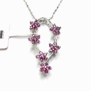 925 silver ruby pendant earring tourmaline ring citrine olivine