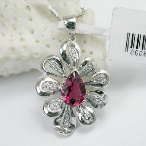 925 silver tourmaline pendan olivine amethyst earring bracelet ring