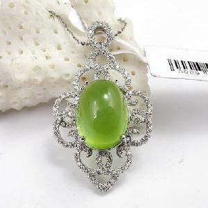 Sell 925 Silver Prehnite Pendant, Color Stone Earring, Jade Bracelet , Mix Gem Jewelry