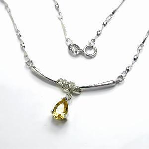 sterling silver citrine pendant olivine ring sapphire bracelet tourmaline earring