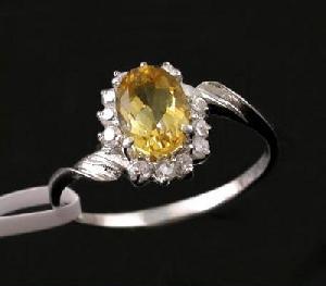 sterling silver citrine ring amethyst blue topaz olivine sapphire earring