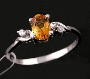 sterling silver citrine ring moonstone agate amethyst earring gem stone jewelry