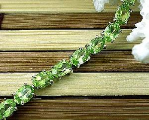 sterling silver olivine bracelet brass cz jewelry blue topaz sapphire ring earring