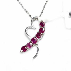 sterling silver ruby pendant citrine olivine sapphire amethyst earring ring brac