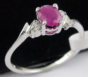 sterling silver ruby ring amethyst olivine earring sapphire bracelet jewelry s
