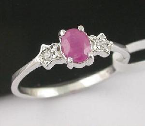 sterling silver ruby ring garnet earring tourmaline sapphire pendant