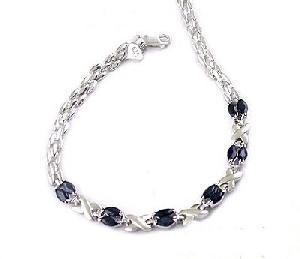 sterling silver sapphire bracelet citrine earring blue topaz ring olivine pendant