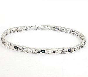 sterling silver sapphire bracelet ruby earring amethyst ring jade pendant