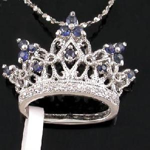 sterling silver sapphire kaiserin pendan ruby earring tourmaline ring prehnite