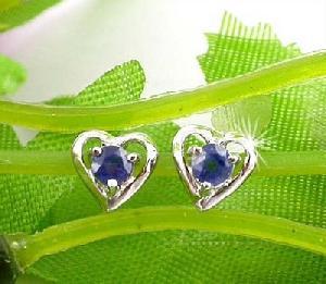 sterling silver sapphire stud earring citrine bracelet ruby ring prehnite