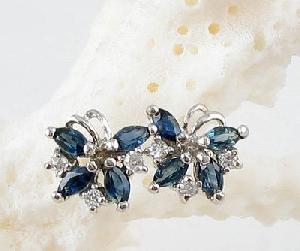 sterling silver sapphire stud earring olivine ring citrine bracelet ruby pendant