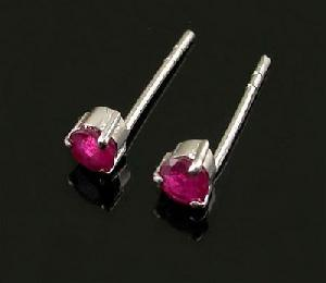sterling silver ruby stud earring prehnite ring citrine bracelet pendant cz jewelry