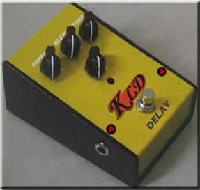 kldguitar analog delay pedal